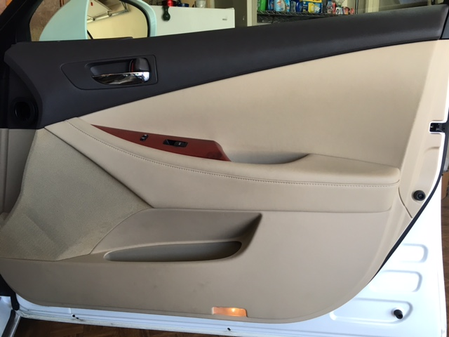 Lexus Door Panel - door open shot