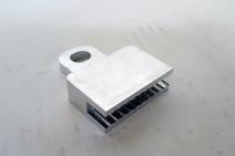 Brand new aluminum rearward window clip